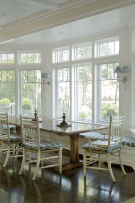 Nicole Kuckly Brandes Dining area by Window